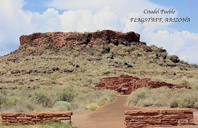Photograph - The Citadel Flagstaff Az by Lorna Maza