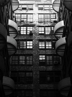Noir Photograph - The Citadel by Mike Norkin