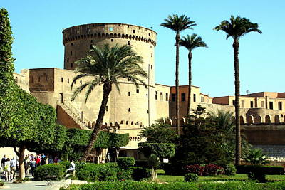 Photograph - The Citadel Of Salah Al-din by Laurel Talabere
