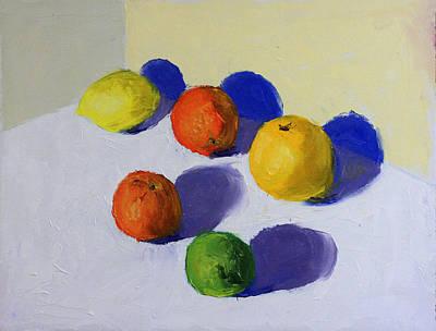 The Citrus Gathering Original by David Zimmerman