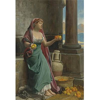 Flower Painting - The Citrus Seller by MotionAge Designs