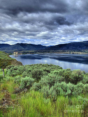 Penticton Photograph - The City And The Clouds by Tara Turner