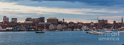 Fore River Photograph - The City By The Sea by Joe Faragalli