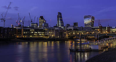 Photograph - The City From The Southbank by Stuart Gennery
