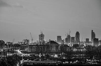 Photograph - The City by Gabriella Szekely