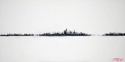 The City New York Art Print