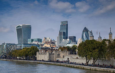 Tower Of London Photograph - The City by Nigel Jones