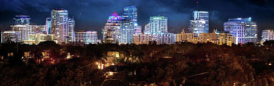 Photograph - The City Of Fort Lauderdale by Mark Andrew Thomas