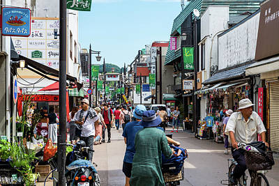 Photograph - The City Of Kamakura  by Michael Scott