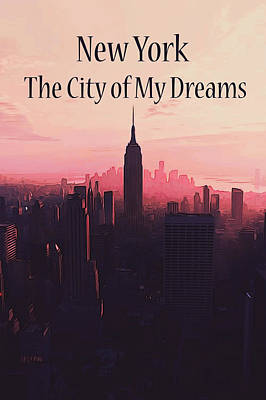 Painting - The City Of My Dreams by Andrea Mazzocchetti