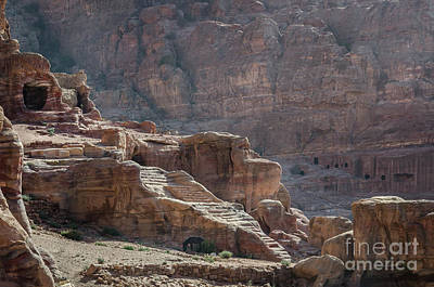 Photograph - The City Of Petra, Jordan 2 by Perry Rodriguez