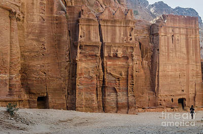 Photograph - The City Of Petra, Jordan 3 by Perry Rodriguez