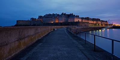 Photograph - The City Of Saint Malo by Stephen Taylor