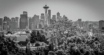 Photograph - The City Of Seattle by Deborah Klubertanz