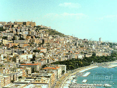Photograph - The City Of Sorrento, Italy by Merton Allen
