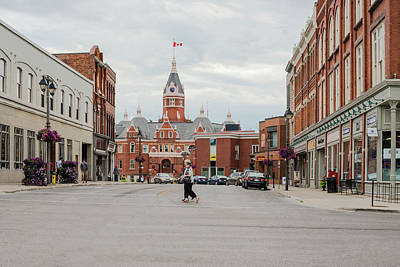 Photograph - The City Of Stratford In Ontario, Canada. by Marek Poplawski