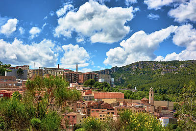 Photograph - The City Of Tarragona And A Beautiful Sky by Eduardo Jose Accorinti