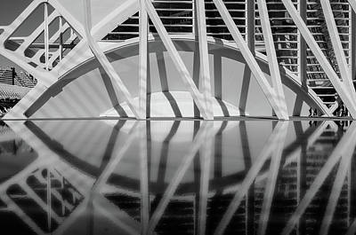 Modern Architecture Photograph - The City Of The Arts - Modern Architecture by Wall Art Prints