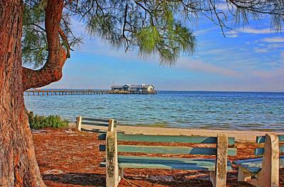Photograph - The City Pier - Anna Maria Island Florida by HH Photography of Florida