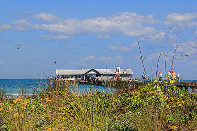 Photograph - The City Pier At Anna Maria 2 by HH Photography of Florida