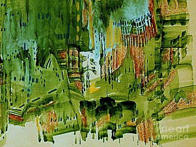Painting - The City Plaza by Nancy Kane Chapman