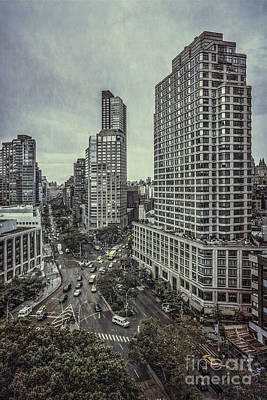 City Scenes Royalty-Free and Rights-Managed Images - The City Shuffle by Evelina Kremsdorf