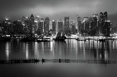 The City That Never Sleeps Art Print by Daniel Lih