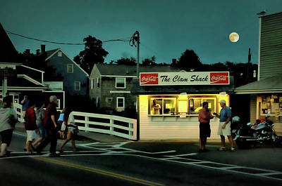 Photograph - The Clam Shack by Diana Angstadt