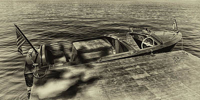 Photograph - The Classic 1958 Chris Craft by David Patterson