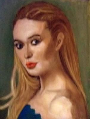 The Classic Beauty Art Print
