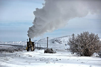 Photograph - The Classic Steam Engine by David Andersen