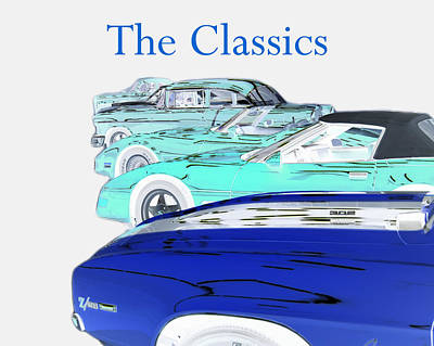 Photograph - The Classics by B Wayne Mullins