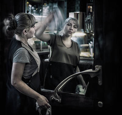 Photograph - The Cleaner by Michel Verhoef