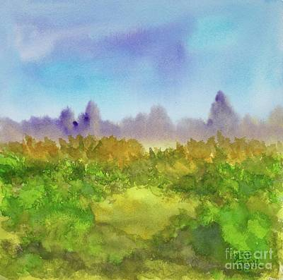 Painting - The Clearing by Barrie Stark