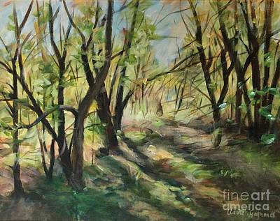 Painting - The Clearing by Claire Gagnon