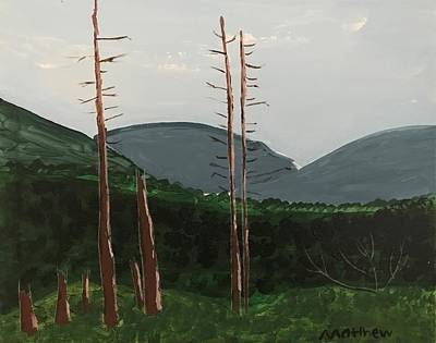 Easterseals Painting - The Clearing by Matthew B