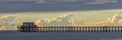 Oceanside Pier Photograph - The Clearing Storm by Peter Tellone