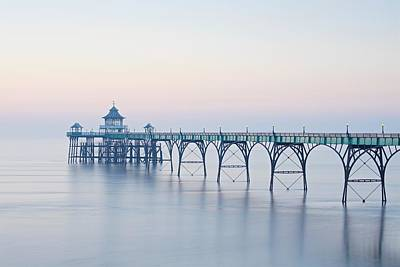 Photograph - The Clevedon Pier by Stephen Taylor