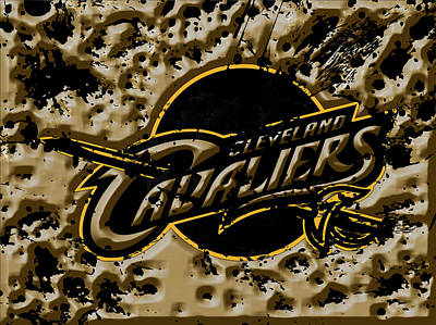 The Cleveland Cavaliers 1a Art Print