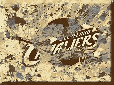 The Cleveland Cavaliers 1b Art Print