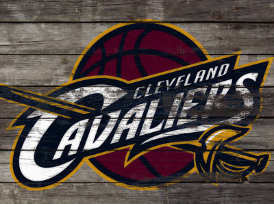 The Trees Mixed Media - The Cleveland Cavaliers 3f      by Brian Reaves