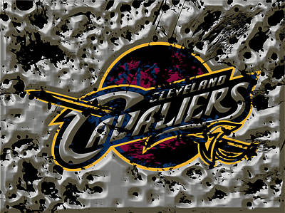 The Cleveland Cavaliers Art Print