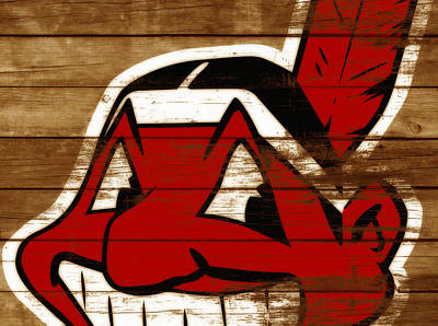 The Cleveland Indians 3b    Art Print