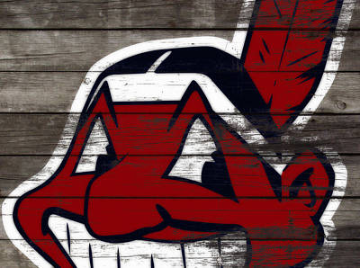 The Cleveland Indians 3c    Art Print