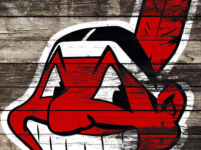 The Cleveland Indians 3j    Art Print