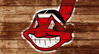 The Cleveland Indians C1 Art Print
