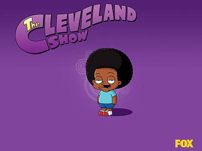 Artwork Digital Art - The Cleveland Show by Maye Loeser