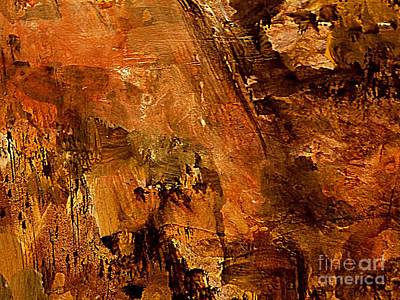 Painting - The Cliff Dwellers by Nancy Kane Chapman