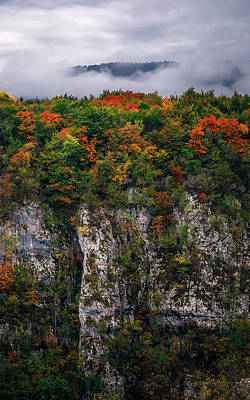 Photograph - The Cliff by Fred Gramoso