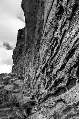 Photograph - The Cliff Trail by Loree Johnson